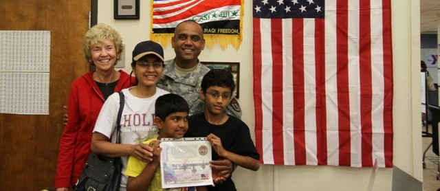 November is Military Family Month at the Rockwall Y