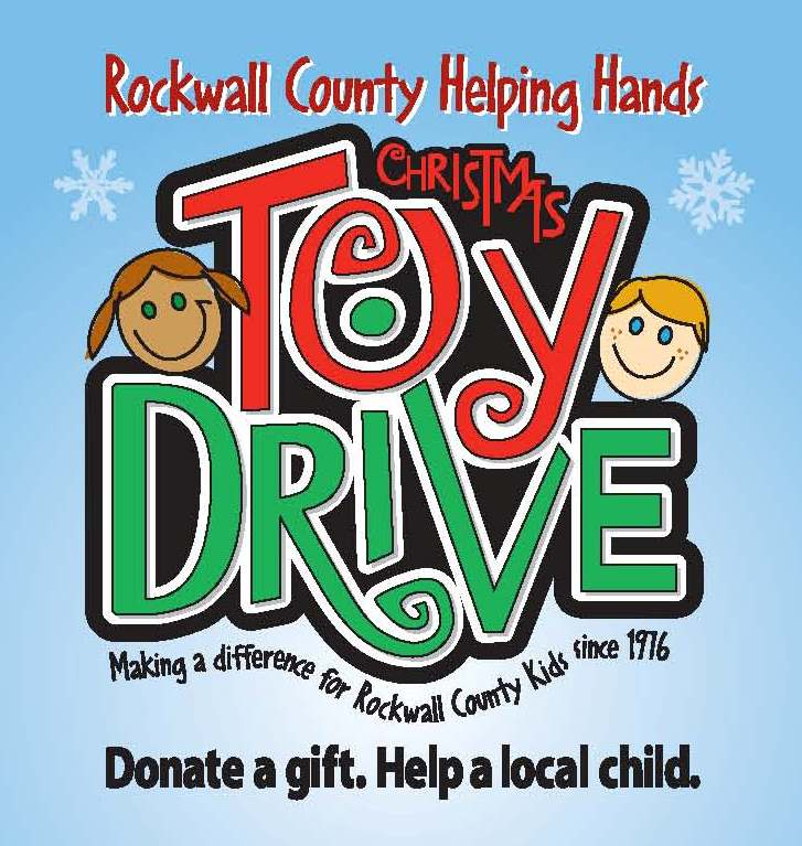Toy Drive Logo : Rockwall helping hands toy drive angel treet at dodie s