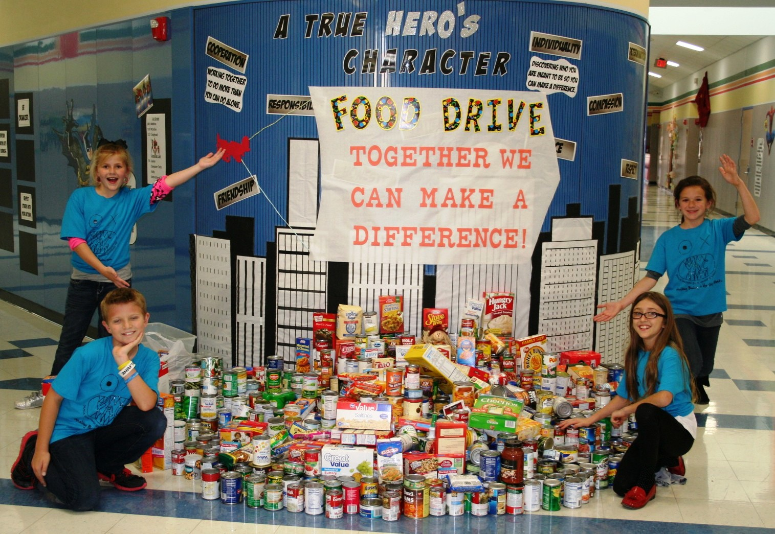 Youth Advisory Council hosts Helping Hands food drive