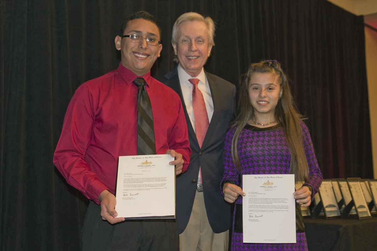 Rockwall Boys & Girls Club honors 'Angels', names Youth of the Year winners