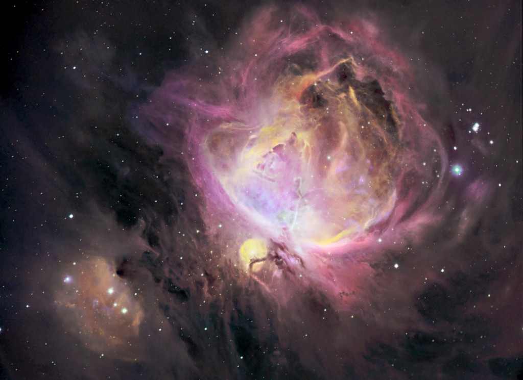 AstroDad invents new imaging technique, Orion nebula, Messier Object 42