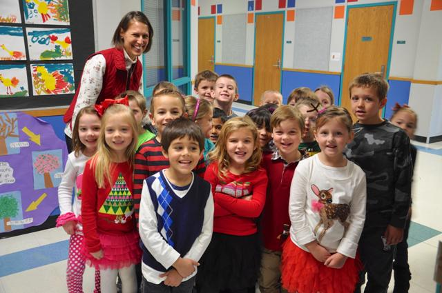Kindergarten Christmas time at Amy Parks
