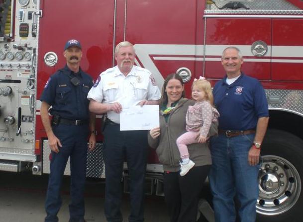 Rockwall Walmart Neighborhood Market supports injured firefighter Devon Colbert