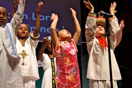 His Little Feet, choir of orphaned children, to perform March 6