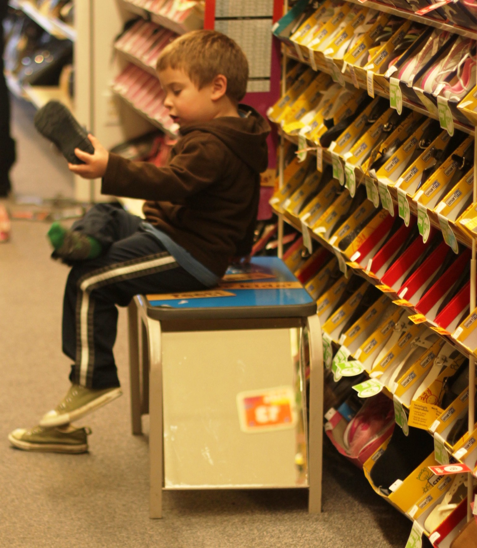 payless boys club team up to help put their
