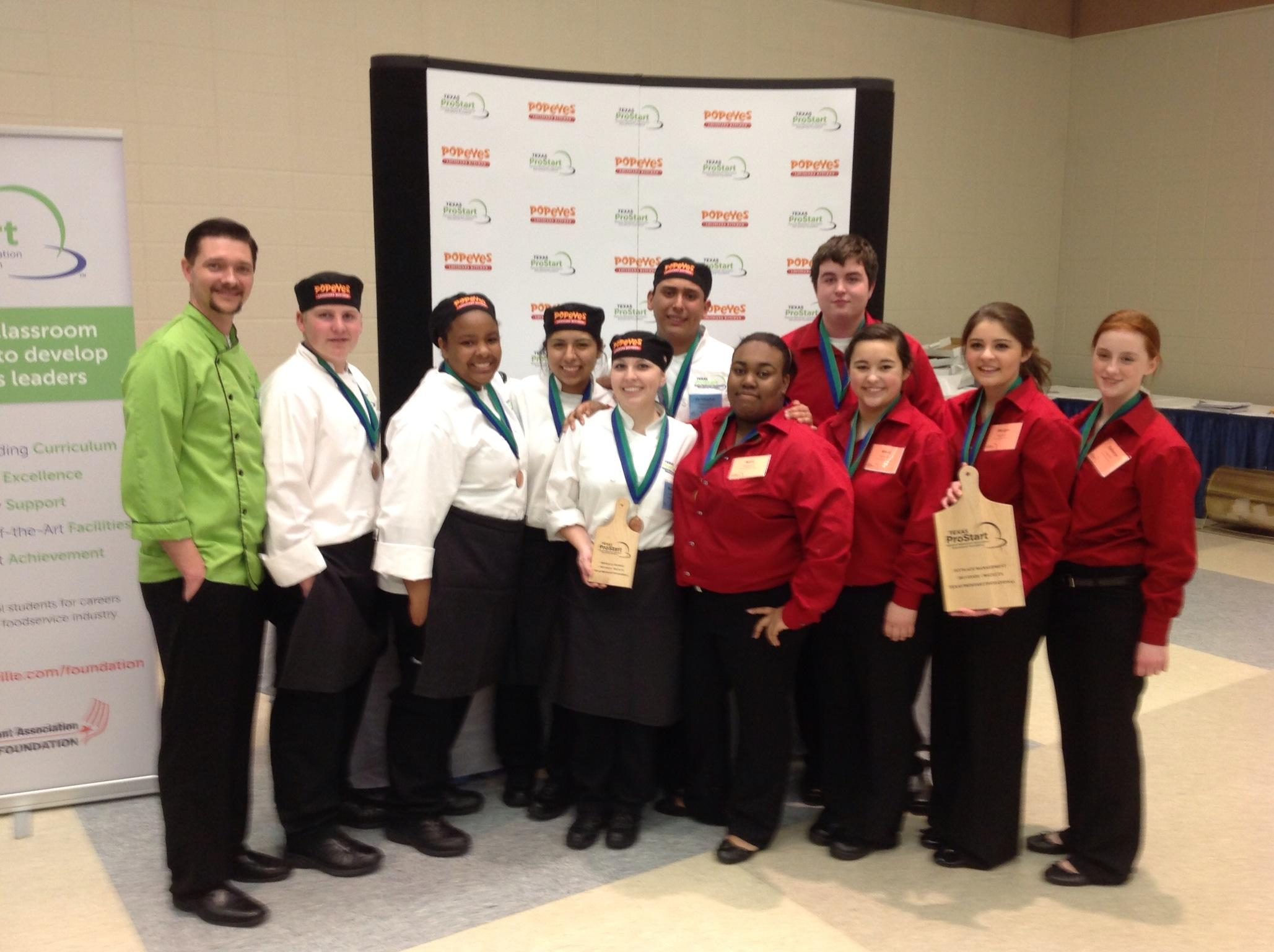 Rockwall Culinary Arts Teams win big at State