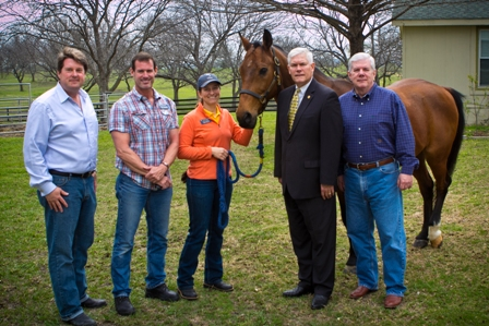 Equest's Hooves for Heroes program draws visit from Congressman Pete Sessions