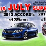 Rusty Wallis Honda July super Sale event