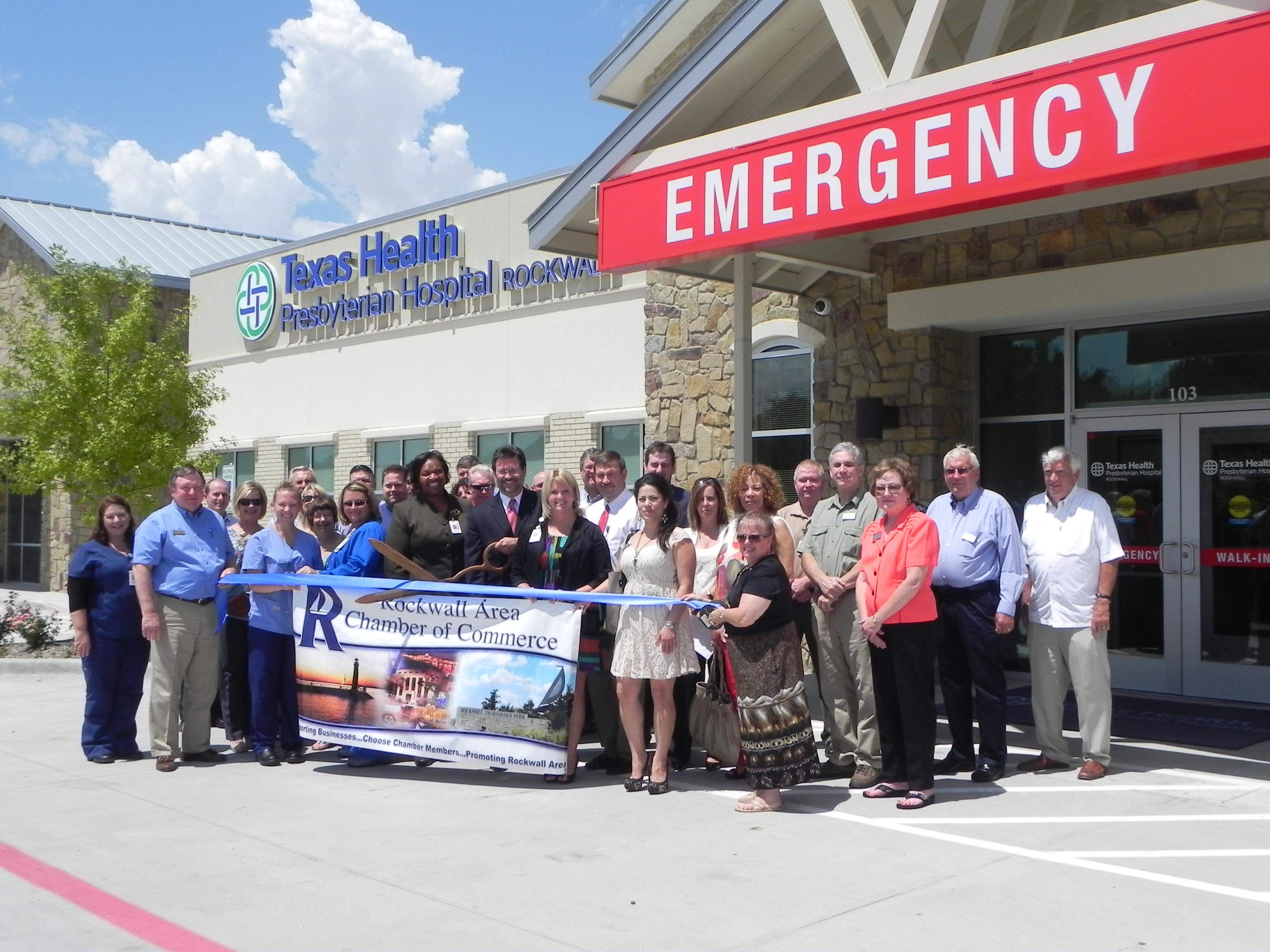 Rockwall Chamber hosts ribbon cutting for Texas Health Presbyterian's new ER