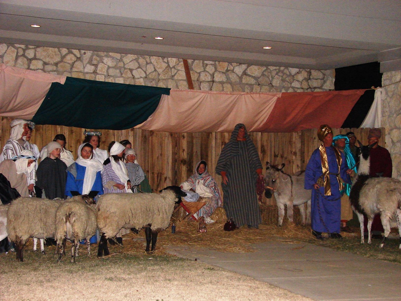 Free Living Nativity performances Dec 22 at First Christian Church Rockwall