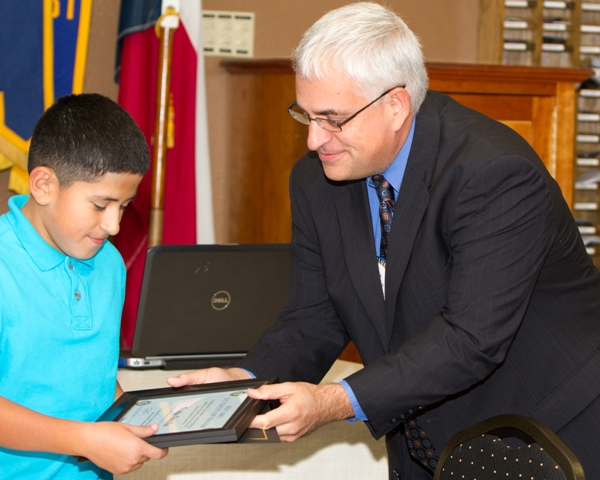 Rockwall Rotary recognizes Student of Honor