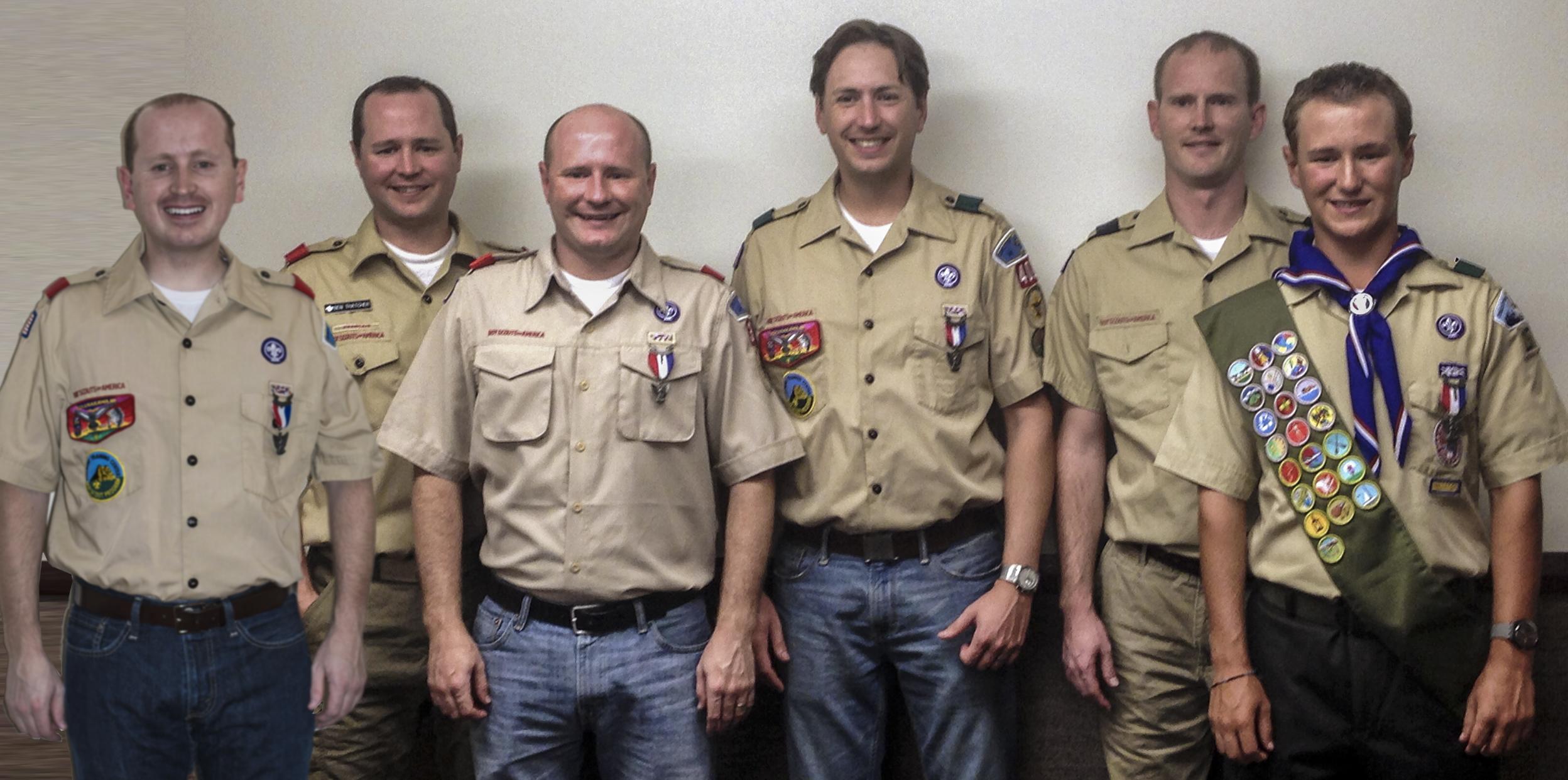 Heath couple raises six sons, six Eagle Scouts
