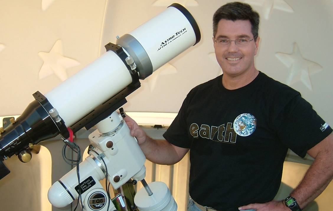 International Observe the Moon Night with AstroDad at Rockwall library
