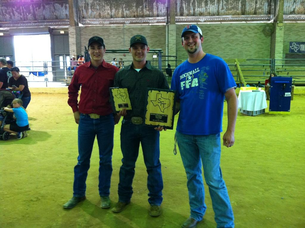 Rockwall FFA named Grand Champion at State Fair of Texas Agriculture Mechanics Show