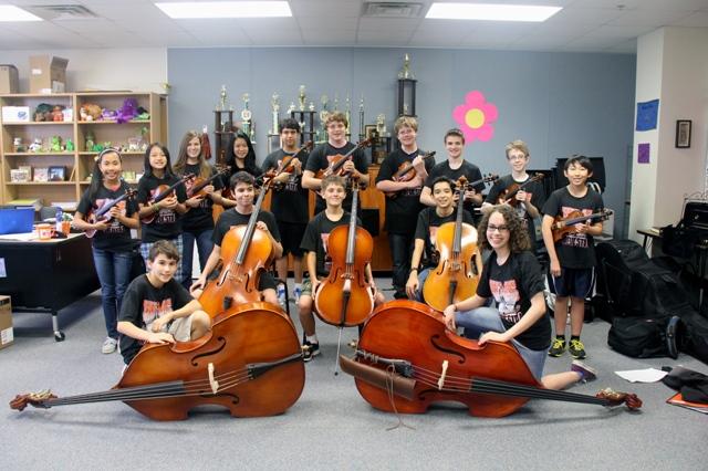 Fifteen Williams Middle School musicians make All-Region Orchestra