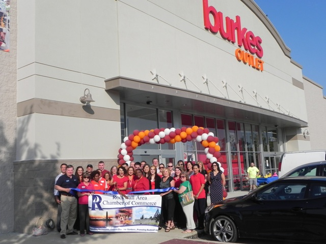 Rockwall Chamber welcomes Burkes Outlet