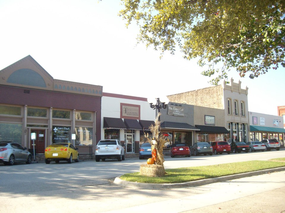 Downtown Rockwall construction starts