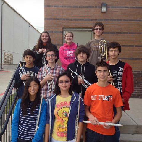 Orange Wave Band freshmen make Region III All Region Band