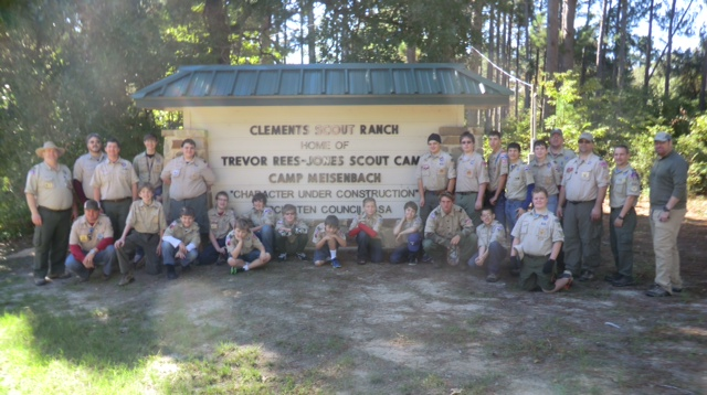 Geo-caching, zombies, and giving back