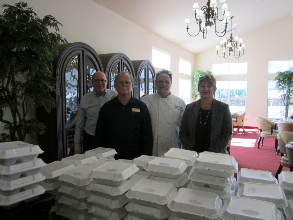 Stepping up to serve holiday meals to seniors