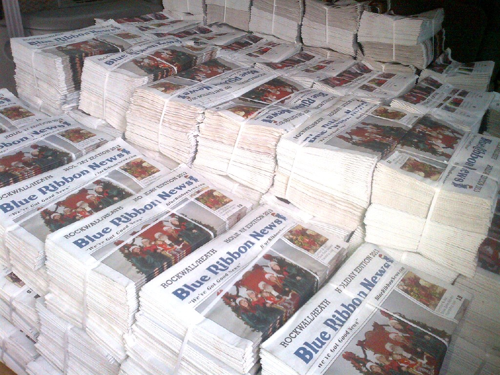 Blue Ribbon News Holiday Print Edition hits mailboxes