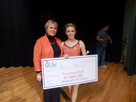 Rockwall's Got Talent winner takes home $1,000