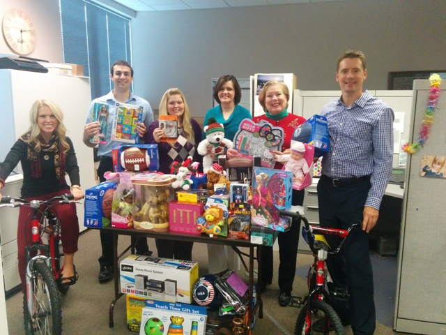 Inspire Financial Group fills holiday wishes