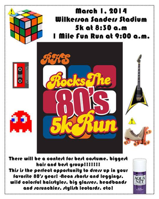 Rock the 80s 5K to fund Rockwall High scholarships