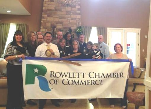 Rowlett Chamber welcomes Rock Ridge Assisted Living