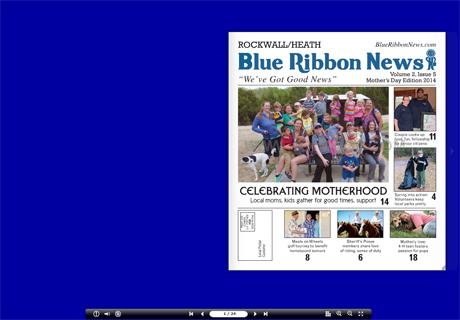 Blue Ribbon News' latest print edition celebrates moms