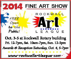 Rockwall Art League 2014_08_18 BRN online 300×250 Av1 FINAL WEB