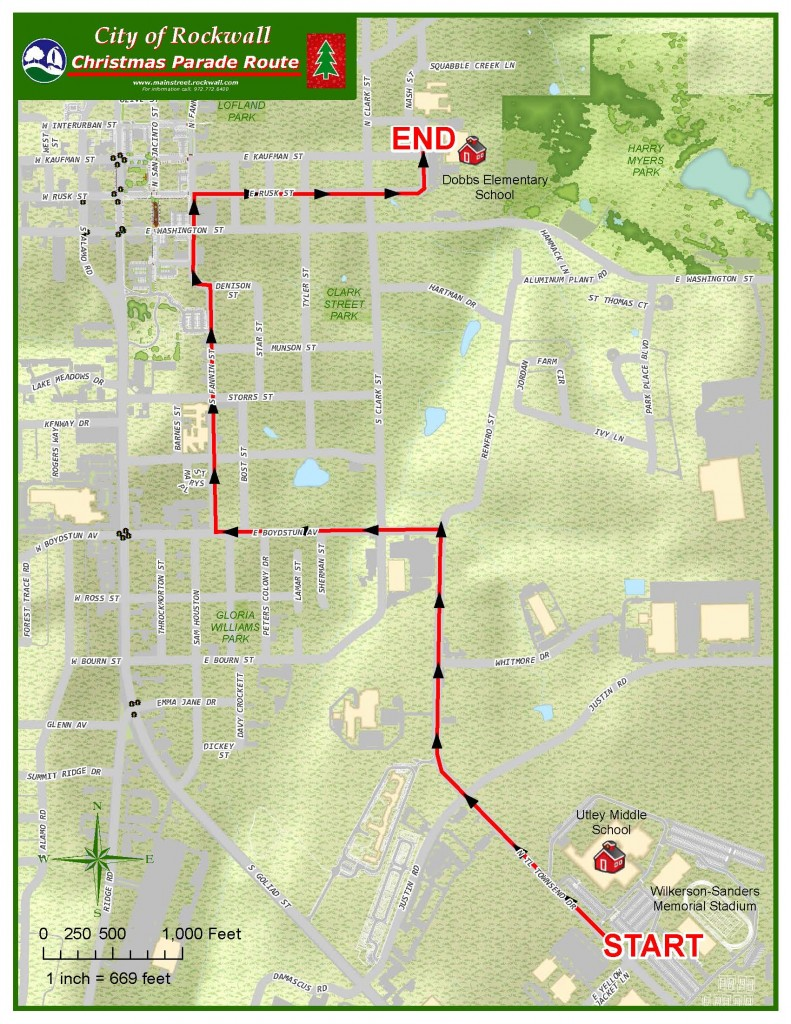 grand marshal chosen new route announced for rockwall