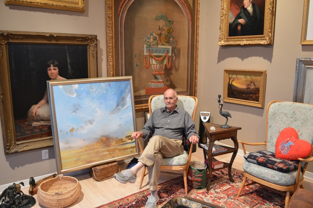 Renowned artist Jim Colley hosts St Nicholas Celebration at his Rockwall home