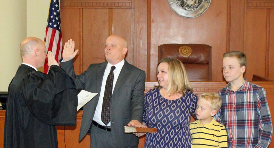 Rockwall County officials sworn in