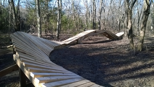 Eagle Scout Project Challenges Mountain Bikers At Squabble