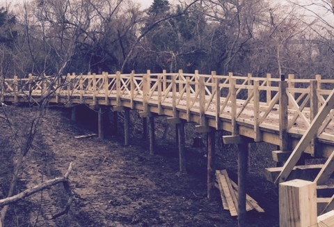 New boardwalk trail through Scenic Point Park to be completed by summer