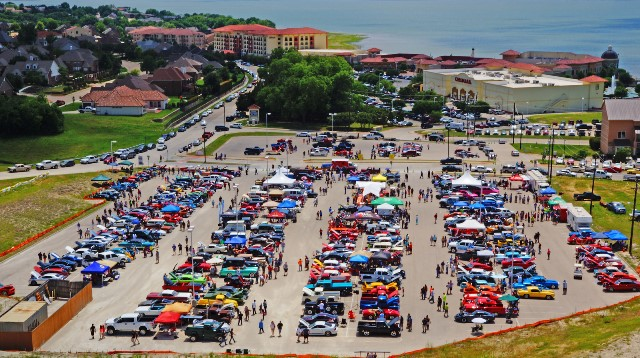 Cars for CASA Auto Show Sunday at Rockwall Harbor | Blue