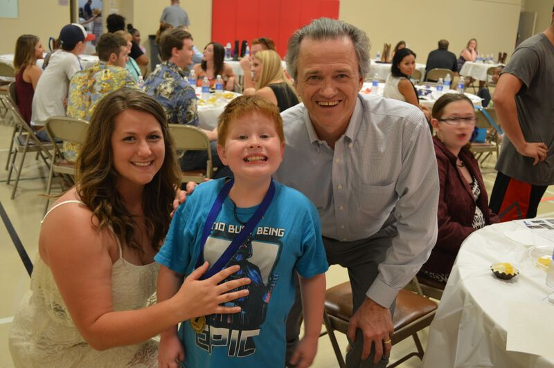 Rockwall YMCA Angel Campers end summer camp with boot scootin' party