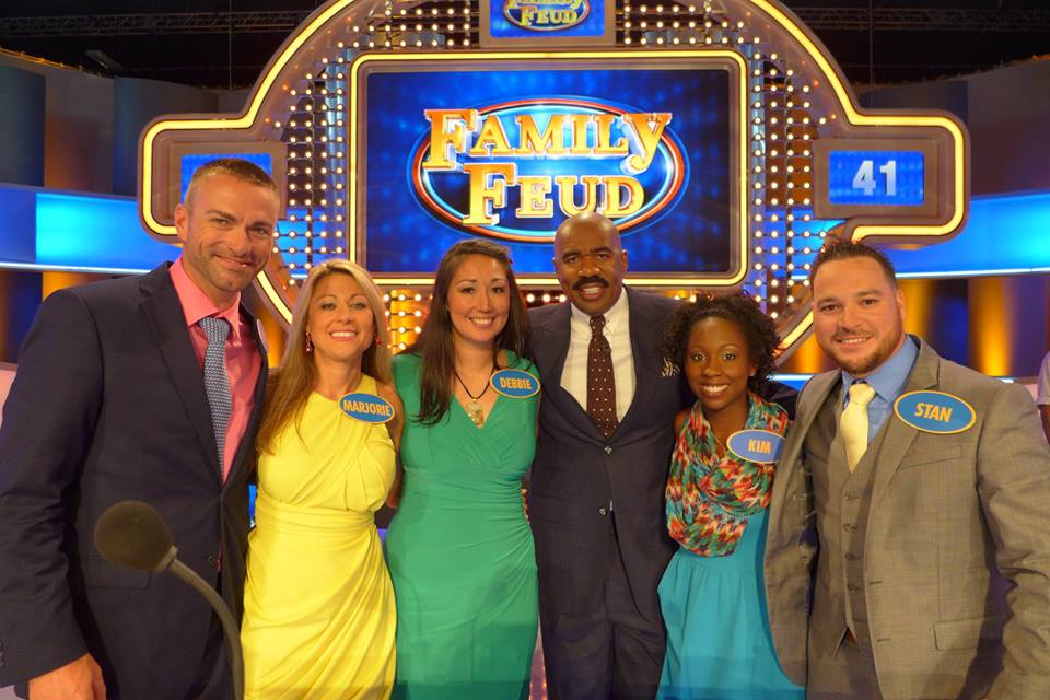 Local family competing on Family Feud