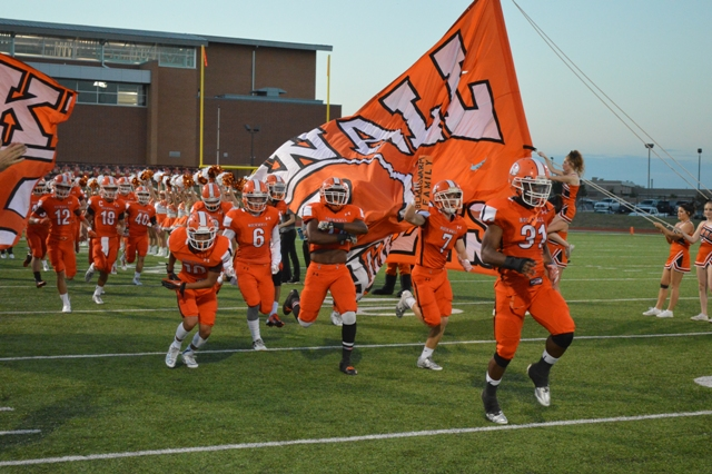 Final score 47-20, Rockwall wins first game of the year