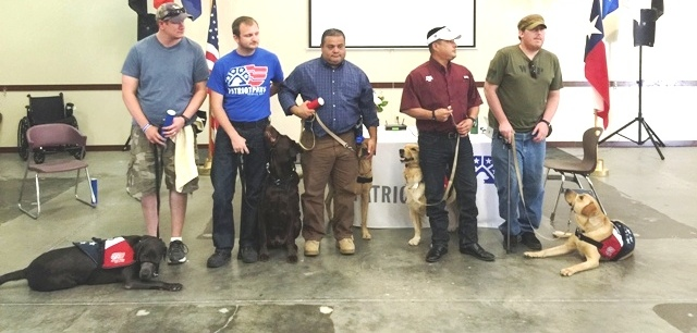 Patriot Paws graduation pairs veterans with service dogs