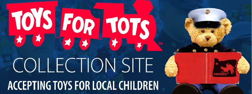 Toys For Tots Logo Eps : Drop off toys for tots at rest haven chapels blue ribbon