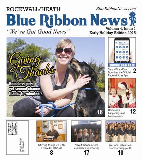 Blue Ribbon News early holiday edition hits mailboxes