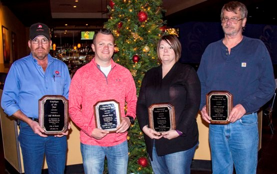 City of Heath honors staff, names Employee of the Year