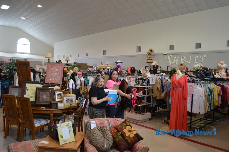 Locals pack Helping Hands Thrift Store for Customer Appreciation Day