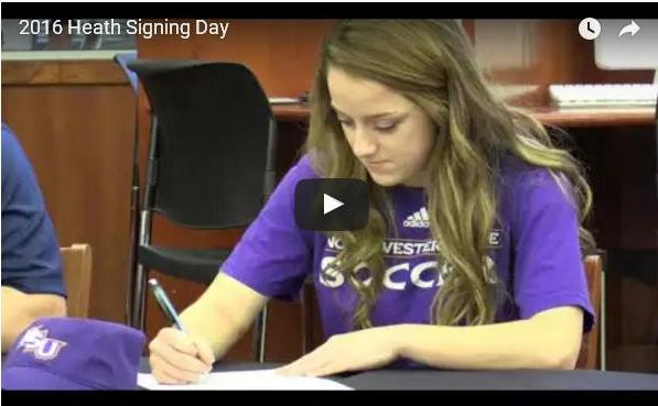 Rockwall-Heath College Signing Day 2016