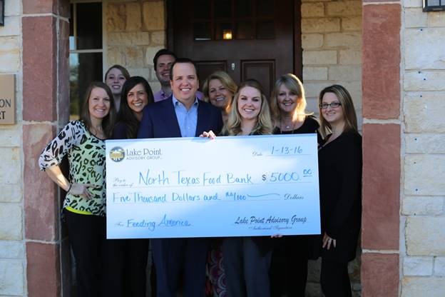 Rockwall company's donation to help feed thousands of local families in need
