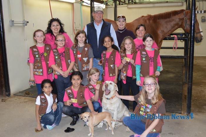 Local equestrian facility treats Girl Scouts troop to fun tour