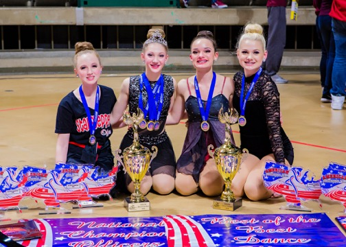 Heath JV Starsteppers excel in state, national competitions