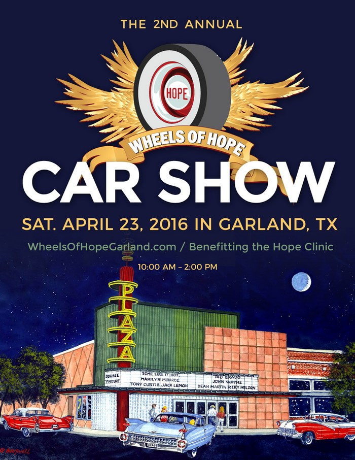 Annual car show to benefit Garland health clinic
